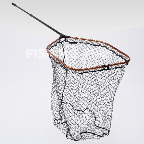 Savage Gear Pro Tele Folding Net Rubber X-Large Mesh XL ragadozós merítőháló