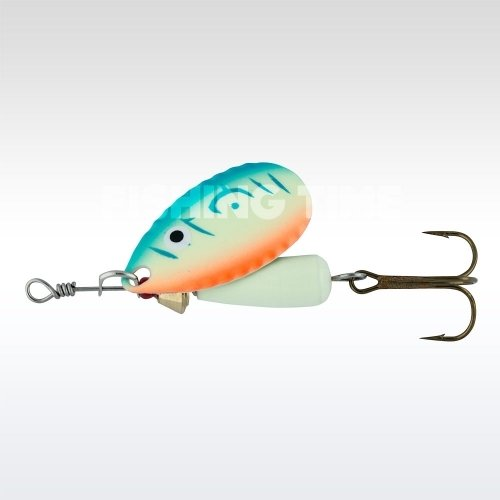 Abu Garcia Droppen 6g körforgó villantó UV Blue/Orange