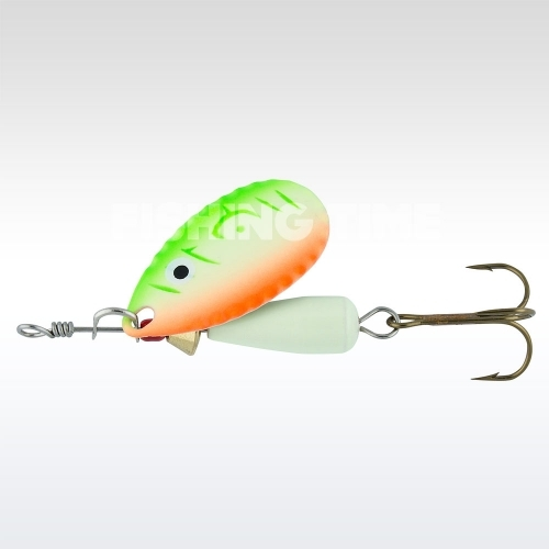 Abu Garcia Droppen 6g körforgó villantó UV Orange/Green