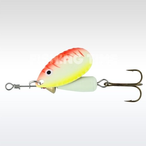 Abu Garcia Droppen 6g körforgó villantó UV Yellow/Orange