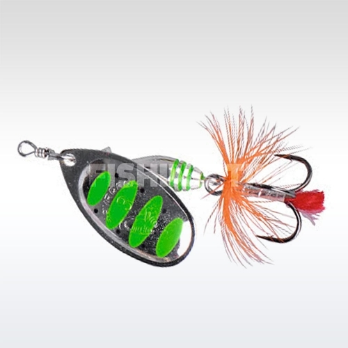 Savage Gear Rotex Spinner #3a 10-Green Highlander