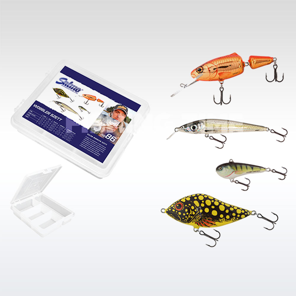 Salmo Wobbler Szett S9F, CD3, SD6S, FR7