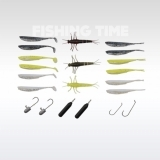 Savage Gear Mini Perch kit 21pcs sügeres műcsali szett