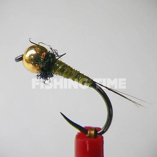 BorisFly Light Olive Micro Nymph