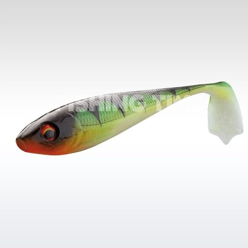 Daiwa Duckfin Gumihal 6cm burning perch