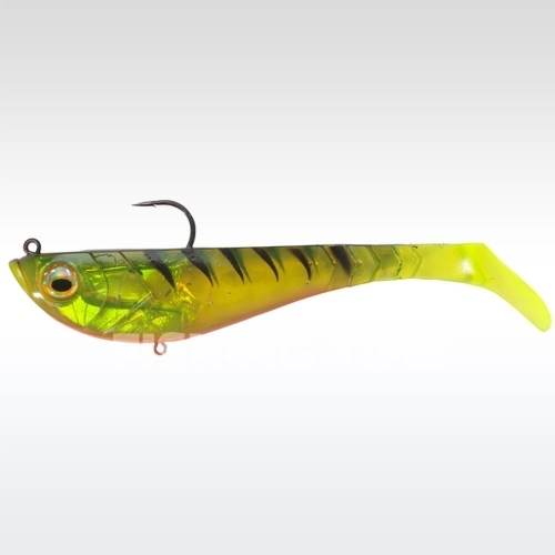 Berkley Powerbait Pulse Shad Pre-Rigged 8cm Firetiger