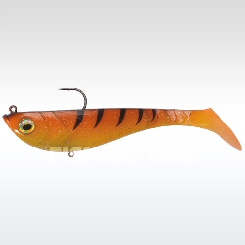 Berkley Powerbait Pulse Shad Pre-Rigged 8cm Orange Black