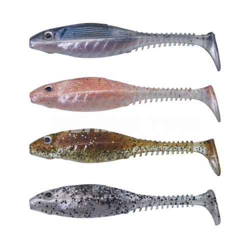 Gunki Grubby Shad Clear Water KIT