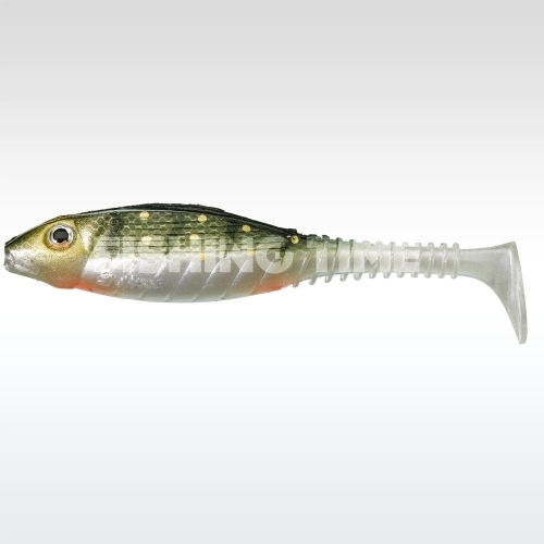 Gunki LS Gunki Grubby Shad 10.5 Green Perch
