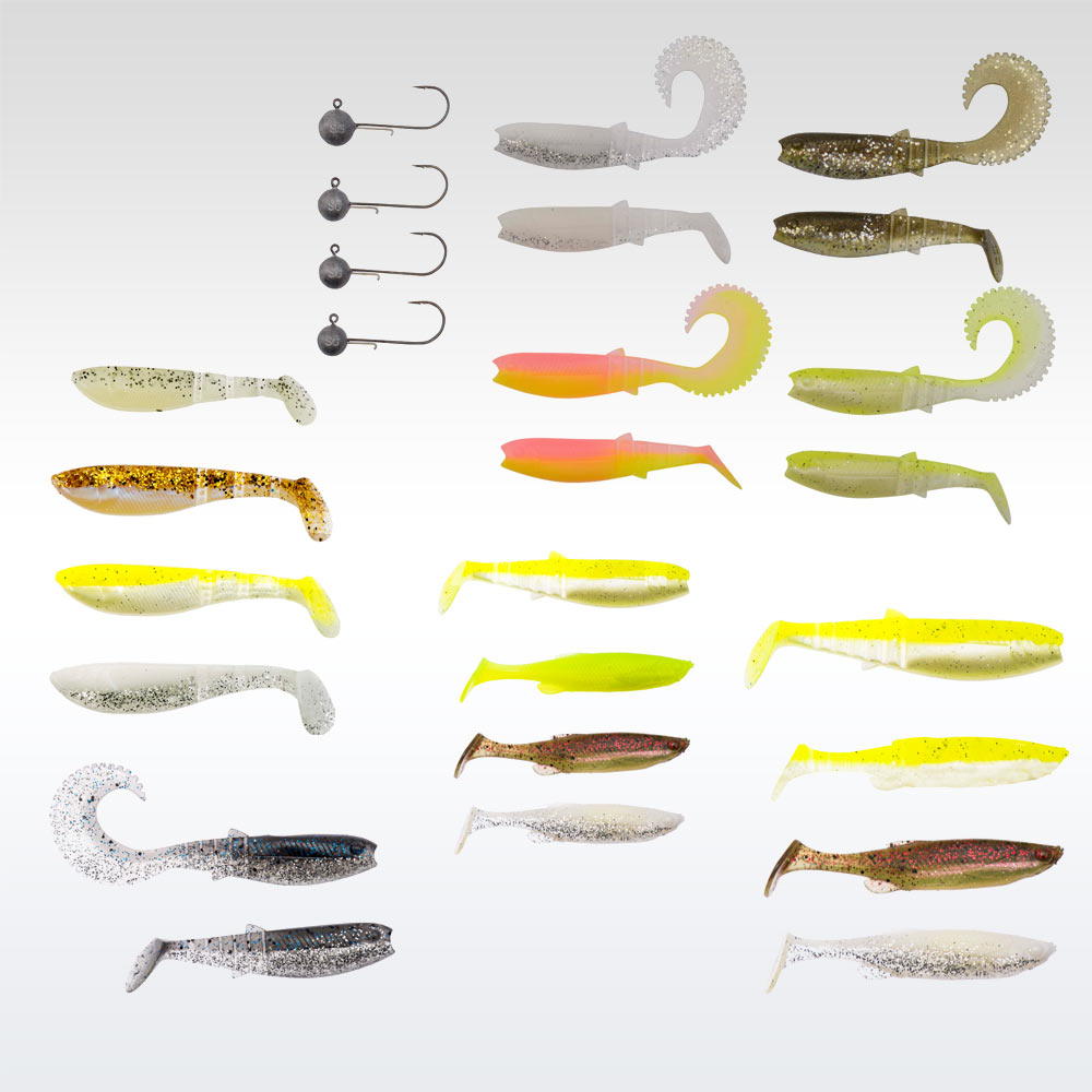 Savage Gear Perch Pro Kit Size M 20pcs gumihal csomag