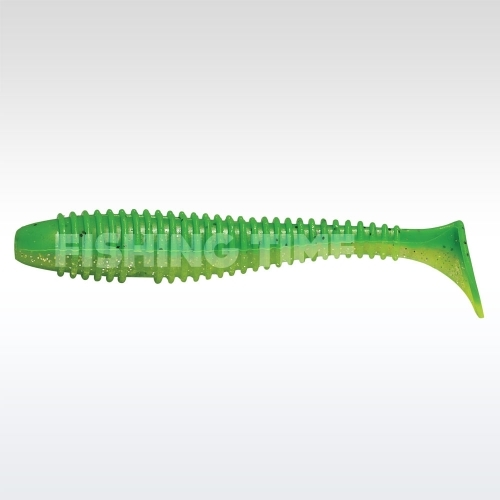 Rapture Ribbed Swing Shad 70 plasztikcsali Green Lime