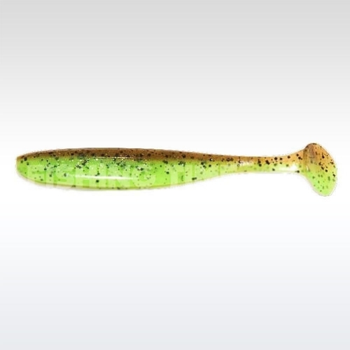 Keitech Easy Shiner 7.2 Green Pumpkin / Chartreuse