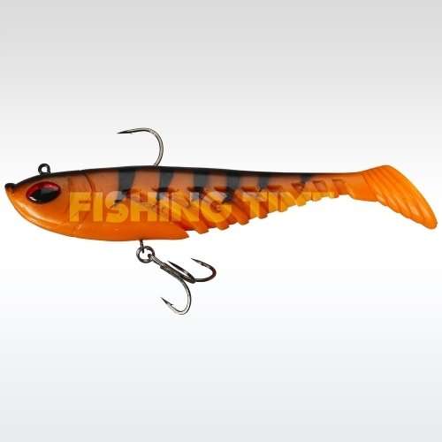 Berkley Prerigged Giant Ripple 16 OranBlack