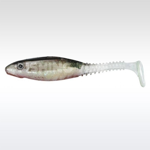 Gunki Grubby Shad 10.5 Red Ghost