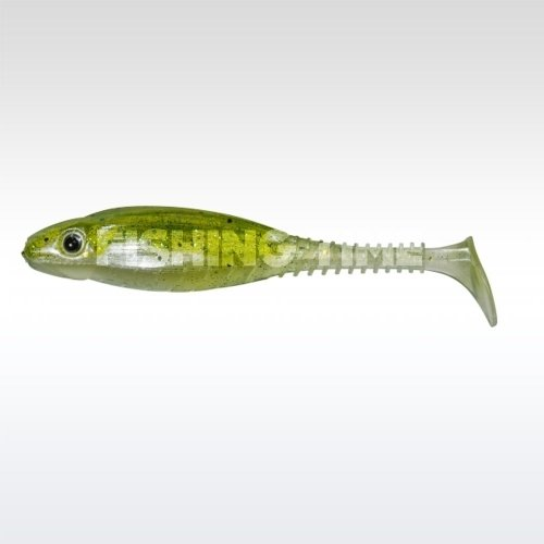 Pezon & Michel / Gunki Grubby Shad 13 Jelly Green