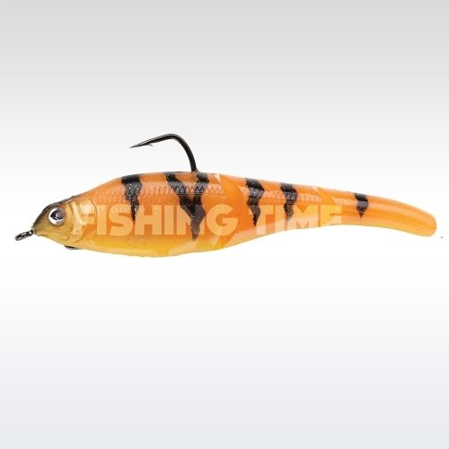Sebile Magic Swimmer Soft 130 Orange Fleeing Prey