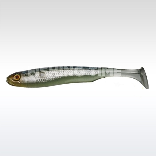 "Illex Glossy Shad 3.8"" Ghost Jelly Shad"