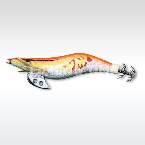 Zebco Jekyll Squid Lure Műcsali orange
