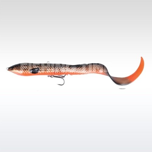 Savage Gear 3D Hard Eel Tail Bait 17 S 09-Red copper Black
