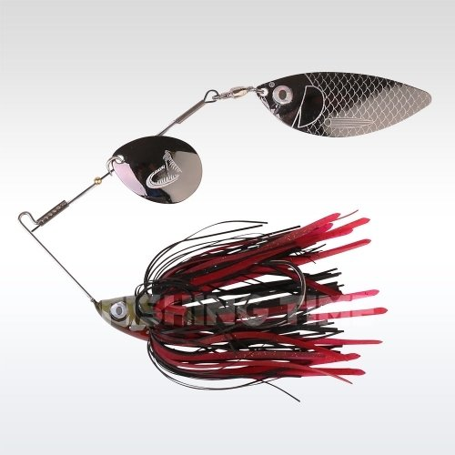 Savage Gear TI-Flex SpinnerBait 12.5 Black Widow Gunsmoke