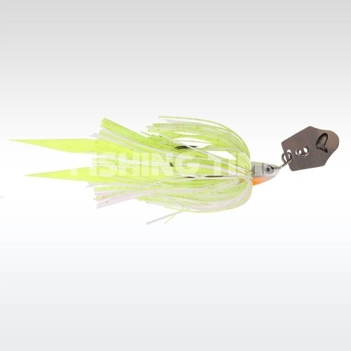 Savage Gear Crazy Blade Jig 12.5 White Yellow silver
