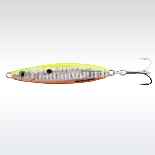 Savage Gear Psycho Sprat Pilker 35g 06s-Lemon Back Flash