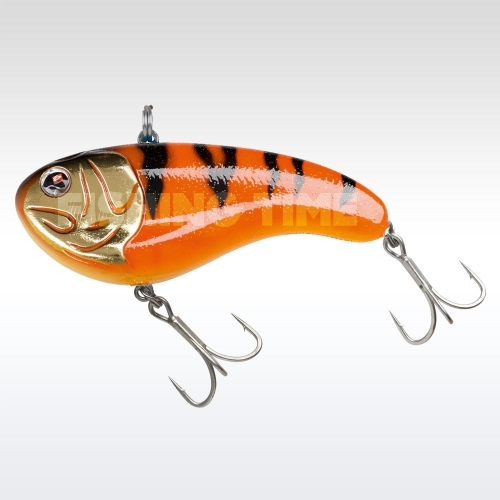 Sebile Flatt Shad Extra Heavy 96 Orange Fleeing Prey
