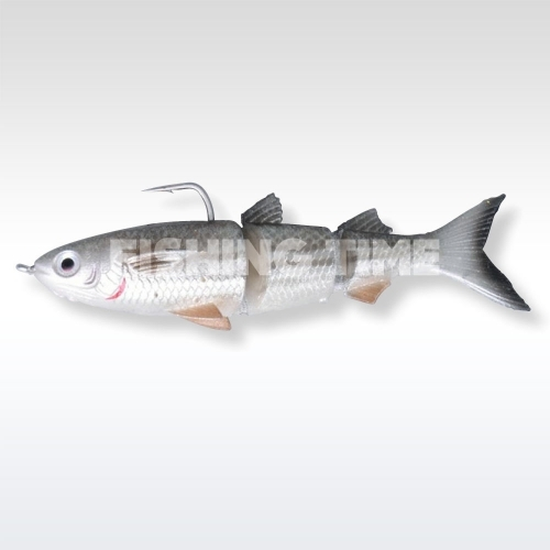 Savage Gear 3D TPE Mullet 130 SS 01-Dirty Silver