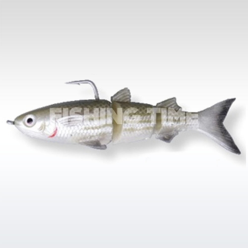 Savage Gear 3D TPE Mullet 130 Wake 02-Green Silver