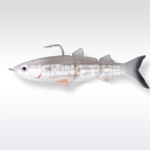 Savage Gear 3D TPE Mullet 130 Wake 03-White Silver