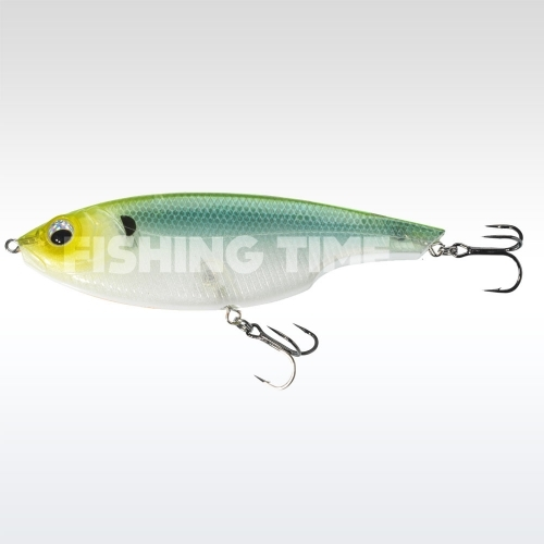 Sebile Lipless Glider 170 SK Green Back Ghost
