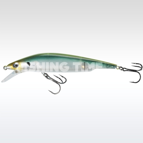 Sebile Bull Minnow 127 FL Green Back Ghost