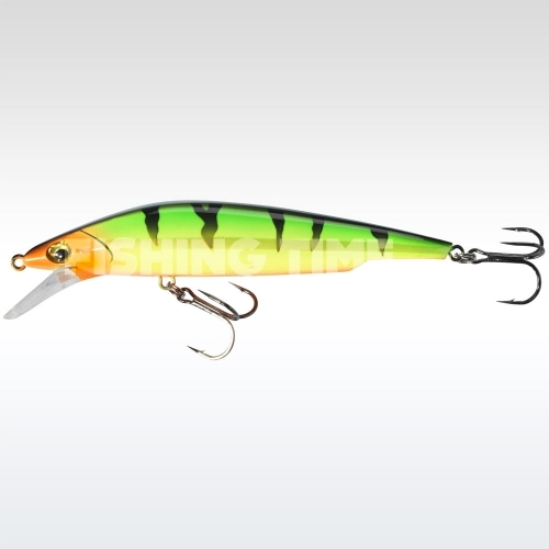 Sebile Bull Minnow 102 FL Fire Tiger Gold