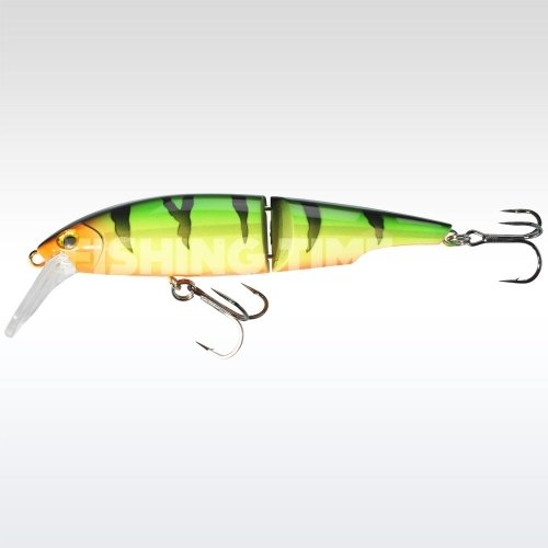 Sebile Swingtail Minnow 83 FL Fire Tiger Gold