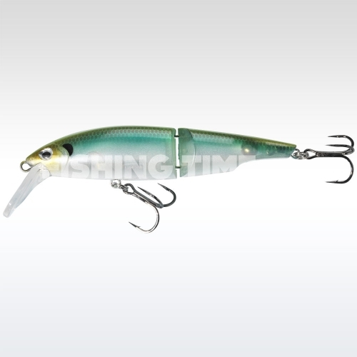 Sebile Swingtail Minnow 83 FL Green Back Ghost