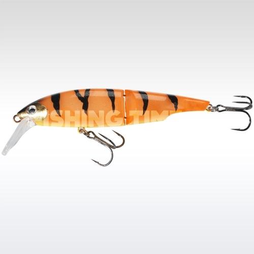 Sebile Swingtail Minnow 83 FL Orange Fleeing Prey