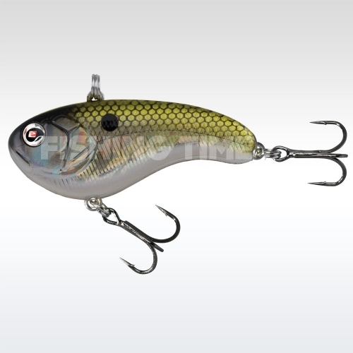 Sebile Flatt Shad Sinking 77 Hollow Greenie