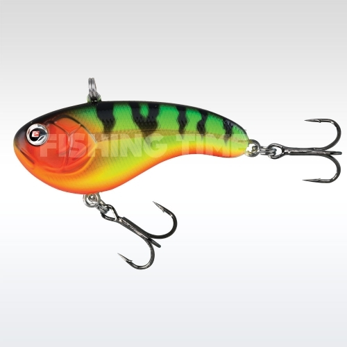 Sebile Flatt Shad Sinking 77 FTG (Fire Tiger Gold)
