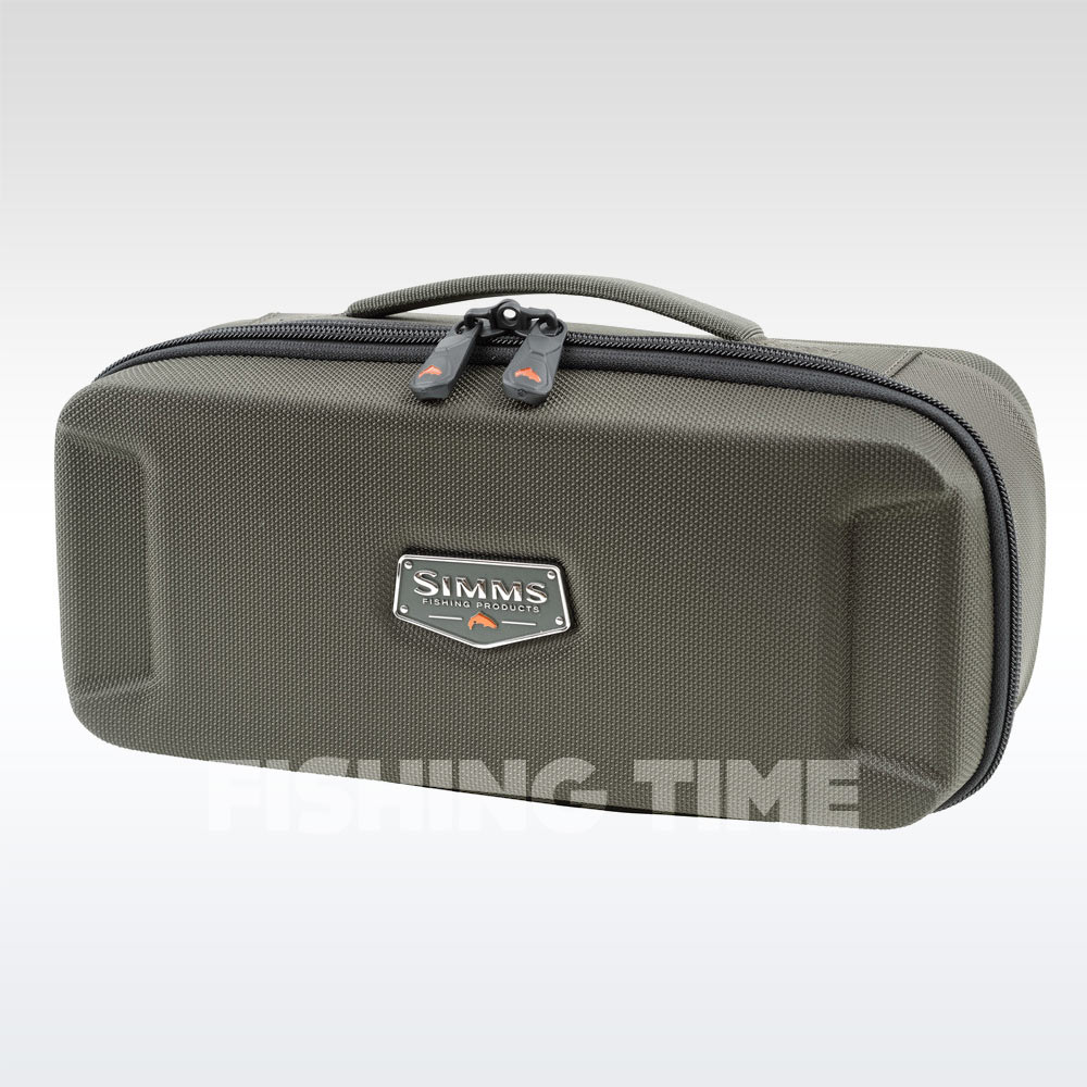 Simms Bounty Hunter Reel Case Coal M orsótartó táska