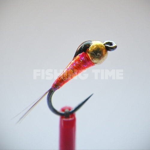 BorisFly Orange Pink Perdigon
