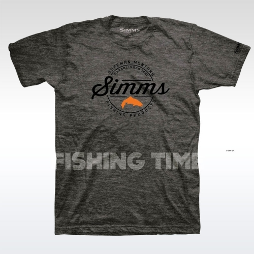 Simms Simms Authentic Charcoal Heather póló