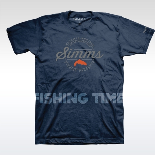 Simms Simms Authentic Navy póló