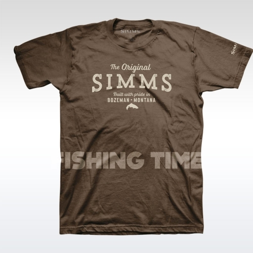 Simms The Original Brown póló
