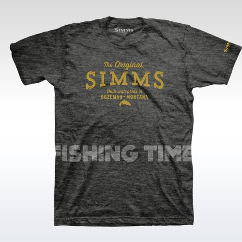 Simms The Original Charcoal Heather póló
