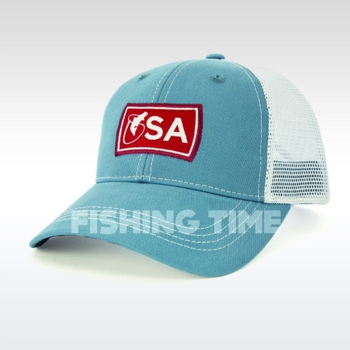 Scientific Anglers Trucker Hat Blue/White