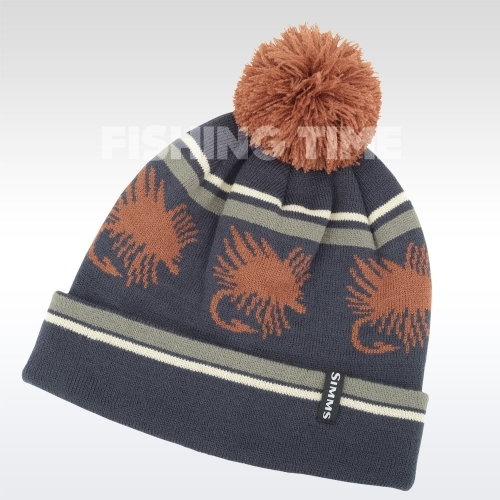 Simms Big Hole Pom Hat Rust