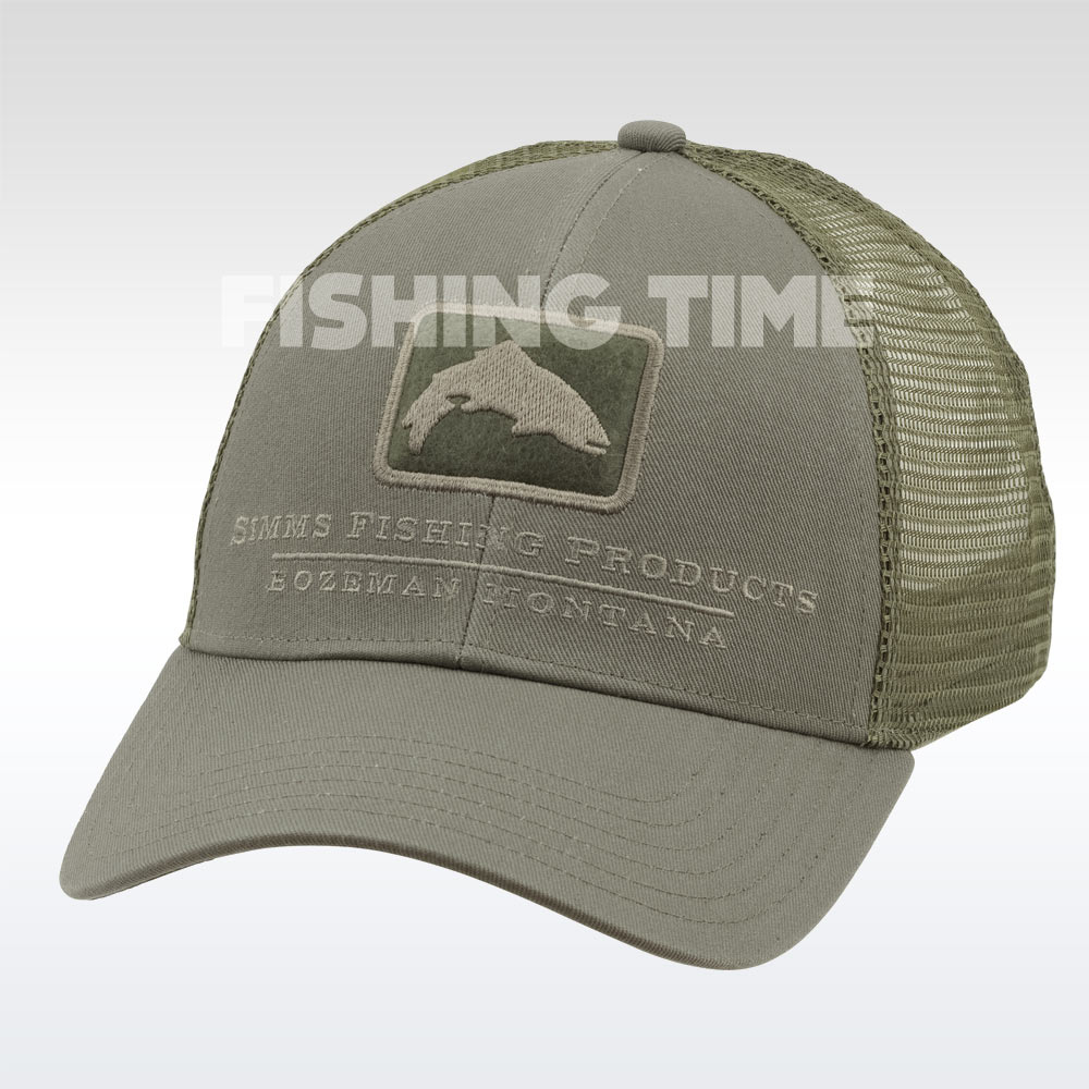 Simms Trout Icon Trucker Tumbleweed