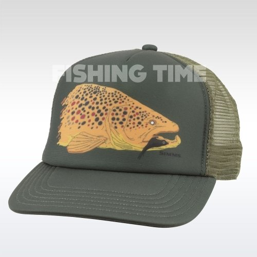 Simms Kype Jaw Trucker Foliage