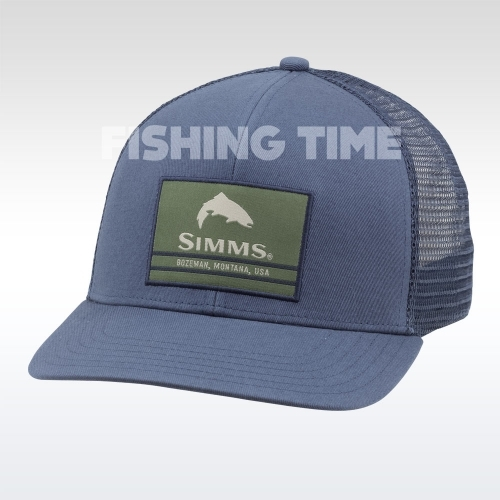 Simms Original Patch Trucker Dark Moon