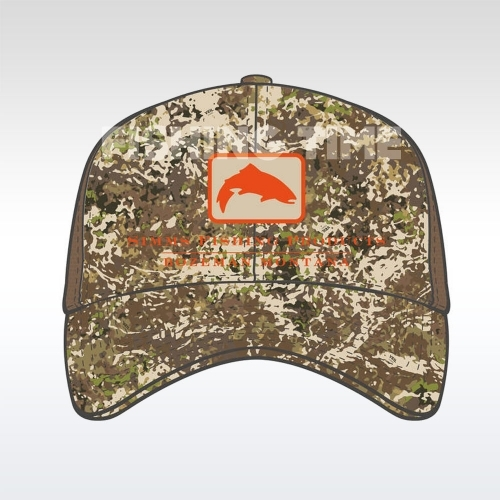 Simms Trout Icon Trucker River Camo